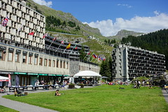 Flaine Forum @ Resort @ Flaine @ Hike to Désert de Platé (*_*) Tags: 2019 summer ete august afternoon hiking europe france hautesavoie 74 savoie loop circuit mountain montagne nature randonnee trail sentier walk marche giffre désertdeplaté flaine skiresort stationdeski art architecture brutalism concrete faucigny beton marcelbreuer