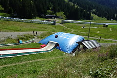 Slide @ Flaine Forum @ Resort @ Flaine @ Hike to Désert de Platé (*_*) Tags: 2019 summer ete august afternoon hiking europe france hautesavoie 74 savoie loop circuit mountain montagne nature randonnee trail sentier walk marche giffre désertdeplaté flaine skiresort stationdeski faucigny