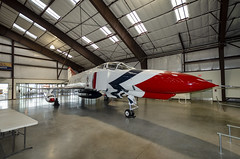 McDonnell Douglas F4 Phantom (rschnaible) Tags: pima air space museum arizona southwest indoor history historic aircraft military grumman f 11a tiger vehicles transportation