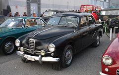 Alfa Romeo 1900 Ex Polizia // FG-65778 (baffalie) Tags: auto voiture ancienne vintage classic old car coche retro expo italia sport automobile racing motor show collection club course race circuit italie padoue fiera moto bike motorbike motocycle