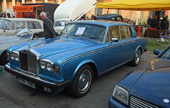 Rolls Royce Silver Shadow 2 // FNS 758S (baffalie) Tags: auto voiture ancienne vintage classic old car coche retro expo italia sport automobile racing motor show collection club course race circuit italie padoue fiera moto bike motorbike motocycle