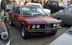 BMW 320/4 (1977) // TO-P88908 (baffalie) Tags: auto voiture ancienne vintage classic old car coche retro expo italia sport automobile racing motor show collection club course race circuit italie padoue fiera moto bike motorbike motocycle