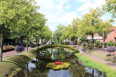 flowery Papenburg (Opa Jaap) Tags: papenburg flowers town germany canal