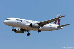 Qatar Airways Airbus A320-232  |  A7-AHO  |  LMML (Melvin Debono) Tags: qatar airways airbus a320232 | a7aho lmml cn 4810 one world livery melvin debono spotting spotters spotter canon eos 5d mark iv 100400mm plane planes photography airport airplane aircraft aviation malta mla