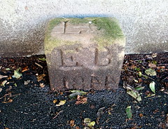 Old boundary stone at Broadgate, Preston (Tony Worrall) Tags: preston lancs lancashire city welovethenorth nw northwest north update place location uk england visit area attraction open stream tour country item greatbritain britain english british gb capture buy stock sell sale outside outdoors caught photo shoot shot picture captured ilobsterit instragram photosofpreston stone relic olden barrier block history past engraved letters boundary boundaystone