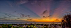 Sunset Glow (DonMiller_ToGo) Tags: hdrpanoramic hdr hdrphotography panoramic panoimages3 sunset sunsetsniper sunsets skyscape skycandy skypainter beachphotgraphy saltlife sunrays pier d810