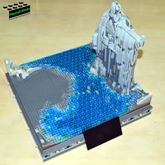 Argonath Build 5 (Playwell Bricks) Tags: art architecture toys design lego thelordoftherings theargonath legoart legoideas legophotography legopictures legotechniques toyphotography