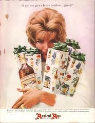 1960 Ancient Age Bourbon Advertisement Life Magazine December 5 1960 (SenseiAlan) Tags: 1960 ancient age bourbon advertisement life magazine december 5