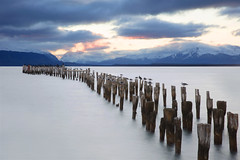 Puerto Natales / sunset (Simon Théberge) Tags: