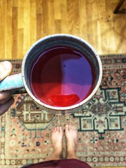 233/365 (moke076) Tags: pink portrait color feet me self vintage holding hands bright tea fresh made hibiscus mug rug boiled selfie brewed fromwhereistand oneaday mobile project cellphone cell photoaday 365 2019 project365 365project drink iphone