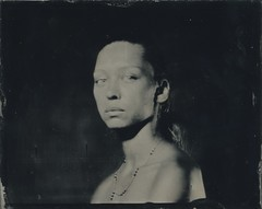 M. ambrotype 4x5 (Bertrand Carrot Film Photographer) Tags: collodion wetplate wetplatephotography wetplatecollodion largeformat largeformatcamera 4x5 8x10