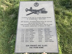 Eastbourne (MCXV) Tags: memorial crash bomber ruthless b24