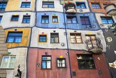 Wien - Hundertwasserhaus (Bardazzi Luca) Tags: vienna wien austria europe city citta building architettura arquitectura architecture luca bardazzi desktop wallpapers image olympus em10 micro four thirds 43 foto flickr photo picture internet web danubio danube österreich