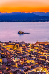 Nafplio at blue hour (Vagelis Pikoulas) Tags: nafplio blue hour long exposure twilight view sunset night nightscape city cityscape canon 6d tokina 2470mm summer 2019 august sea seascape landscape light lights lightroom