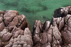 Market Bay, Mull (chris-parker) Tags: mull iona scotland beach rocks sand yacht sunset sea pinks seaweed sailing ship traigh ban boat rockpool puppy cal mac caledonian macbrayne