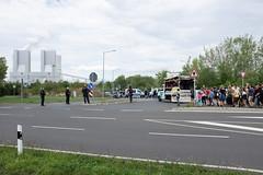 Tanzdemo Kraftwerk Lippendorf