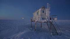 Beginn der Polarnacht
