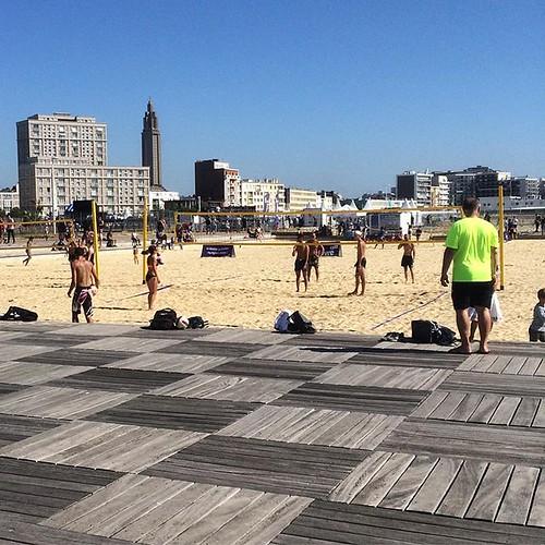 #lh_lehavre #lehavre #citybeach #beachvolley