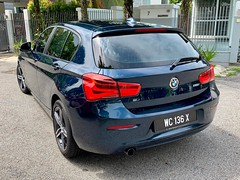 Pam's BMW 118i for sale (Kenny Song) Tags: bmw auto