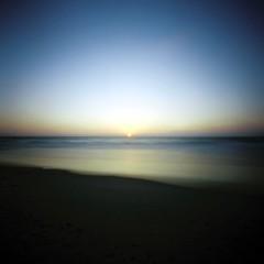 late august sunset (Daphnesalbums) Tags: zeroimage2000pinholecamera cinestill