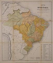 Mapa do Império do Brasil (Arquivo Nacional do Brasil) Tags: história historyofbrazil históriadobrasil arquivonacional arquivonacionaldobrasil nationalarchivesofbrazil nationalarchives map mapaantigo maps