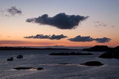 Fionnphort sunset, Mull (chris-parker) Tags: mull iona scotland beach rocks sand yacht sunset sea pinks seaweed sailing ship traigh ban boat rockpool puppy cal mac caledonian macbrayne