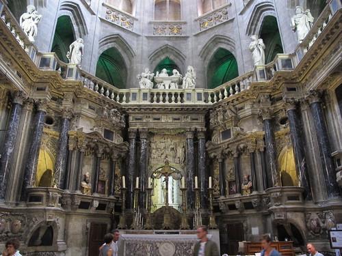 Catedral de Saint Marie - Retablo del coro