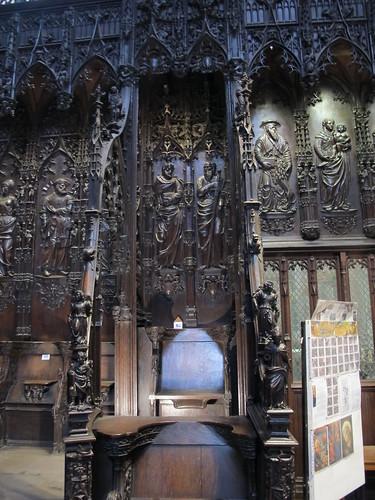 Catedral de Saint Marie - Detalle del coro 7