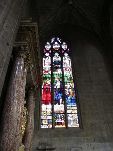 Catedral de Saint Marie - Vidriera 7