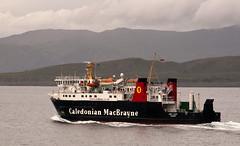 Cal Mac in the Sound of Mull (chris-parker) Tags: mull iona scotland beach rocks sand yacht sunset sea pinks seaweed sailing ship traigh ban boat rockpool puppy cal mac caledonian macbrayne