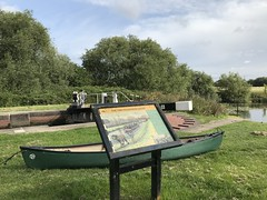 (Sam Tait) Tags: lock deep new kegworth soar river canoe open canadian boat adventure leicestershire england sunny day adventures exploring