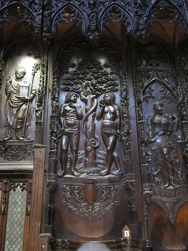 Catedral de Saint Marie - Detalle del coro