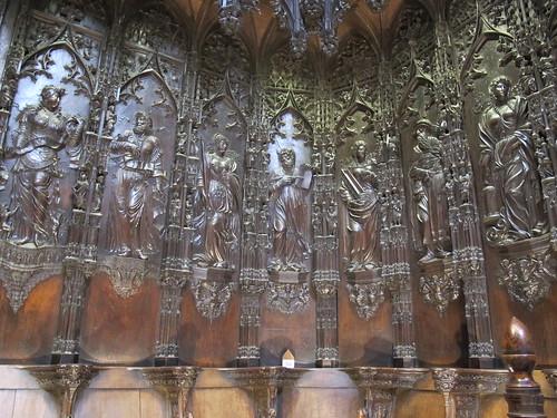 Catedral de Saint Marie - Detalle del coro 2