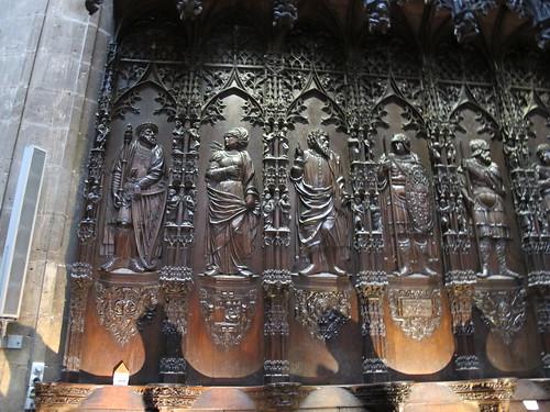 Catedral de Saint Marie - Detalle del coro 4
