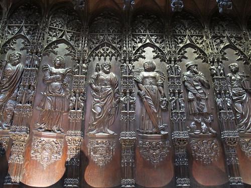 Catedral de Saint Marie - Detalle del coro 6