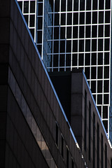 (jfre81) Tags: chicago downtown architecture shadow dark grid lines vertical city urban geometry abstract texture minimalism james fremont photography jfre81 canon rebel xs eos