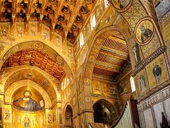 golden UNESCO world heritage (werner boehm *) Tags: wernerboehm monreale palermo cathedralofmonreale mosaic gold unescoworldheritage