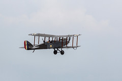 IMG_8086  DH9 (Beth Hartle Photographs2013) Tags: shuttleworthcollection oldwarden airshow aircraft historicaircraft dehavilland dh9 biplane bomber