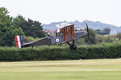 IMG_8085  DH9 (Beth Hartle Photographs2013) Tags: shuttleworthcollection oldwarden airshow aircraft historicaircraft dehavilland dh9 biplane bomber