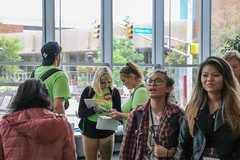 IMG_6255-2 (DUE Photos) Tags: iupui bridge campus center event 2019 mentors group students passing by