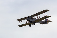 IMG_8102  DH9 (Beth Hartle Photographs2013) Tags: shuttleworthcollection oldwarden airshow aircraft historicaircraft dehavilland dh9 biplane bomber