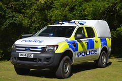 HX14 EUK (S11 AUN) Tags: hampshire constabulary police ford ranger events support unit pickup truck 4x4 rural patrol vehicle car panda irv incident response 999 emergency hx14euk
