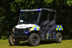 5313 Polaris (S11 AUN) Tags: hampshire constabulary police polaris ranger golfbuggy pickup events support unit truck 4x4 rural patrol vehicle car panda irv incident response 999 emergency 5313