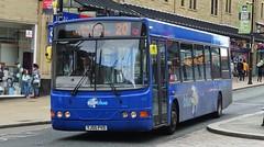 Huddersfield (Andrew Stopford) Tags: yj05pvo vdl sb120 wright cadet yorkshiretigerltd arriva kline centrebus halifax tigerblue