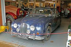 D22075.  1961 JAGUAR 3.8. (Ron Fisher) Tags: car museum classiccar devon vehicle westcountry southdevon motormuseum westofengland classicvehicle moretonhampsteadmotormuseum jaguar jaguar38