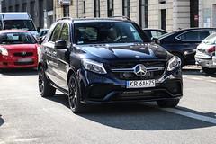 Poland (Krakow) - Mercedes-AMG GLE 63 S W166 (PrincepsLS) Tags: poland polish license plate warsaw spotting kr krakow mercedesamg gle 63 s w166