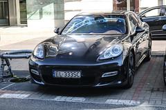 Poland (Lodz) - Porsche 970 Panamera Turbo (PrincepsLS) Tags: poland polish license plate warsaw spotting el lodz porsche 970 panamera turbo