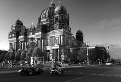 like it is (Renate R) Tags: berlin berlinerdom berlincathedral blackwhite street