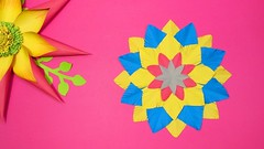 Paper snowflake decoration!! How to Make Beautiful 3D Snowflake for Christmas Decoration!! (sanjidakhatun885) Tags: paper snowflake decoration how make beautiful 3d for christmas