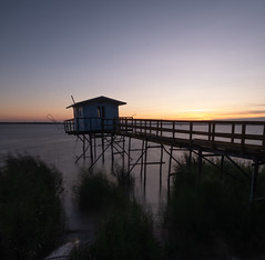 Sunset carrelet 4 (ceciliadurant) Tags: sunset carrelet world blaye estuaire gironde bordeaux